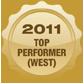 2011 Top Performer Western Canada