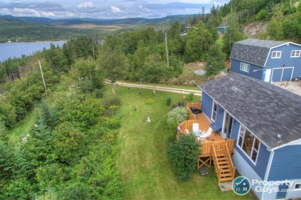 Private Sale: 133 The New Road, Big Bonne Bay Pond, Newfoundland and